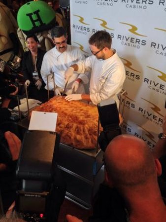 Pittsburgh casino cooks up world's largest pierogi