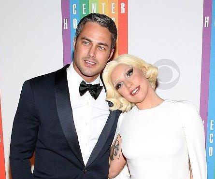 Lady Gaga, Taylor Kinney make rare red carpet appearance
