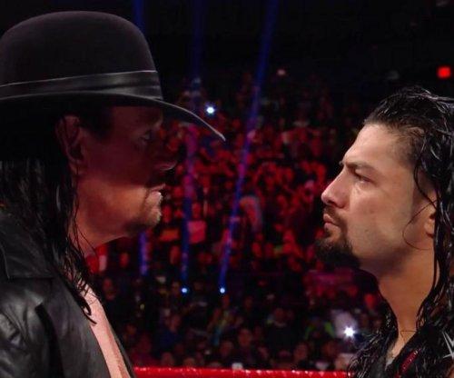 WWE Raw: Roman Reigns encounters The Undertaker