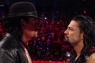 WWE Raw: Roman Reigns encounters The Undertaker