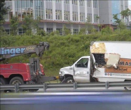 Nail spill shuts down 3 lanes of N.C. freeway