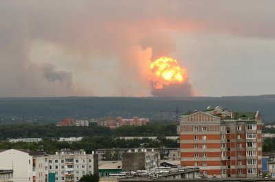 Russia military depot shaken by 2nd explosion in 4 days