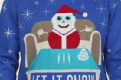 Walmart apologizes for Christmas sweater with drug reference