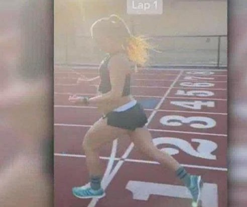 Woman runs mile in under 6 minutes while 9 months pregnant