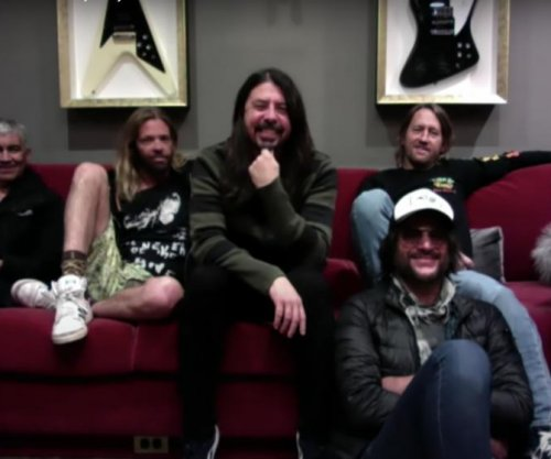 Foo Fighters perform, share party playlists on 'Late Late Show'