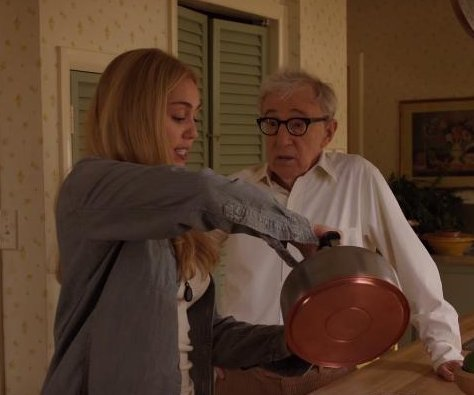 Woody Allen's Amazon series debuts trailer with Miley Cyrus