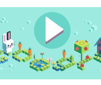 Google celebrates 50 years of kids coding with interactive Doodle game