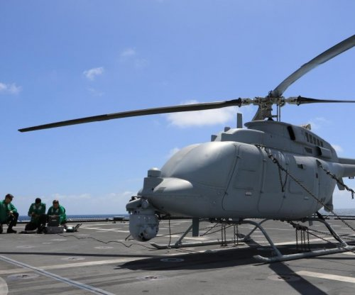 Fire Scout unmanned helicopter finishes first flight tests from LCS