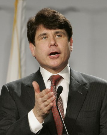 Business as usual for Blagojevich