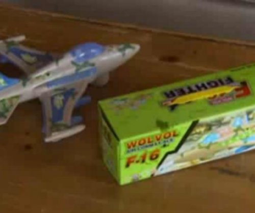 Toddler's toy plane plays Islamic prayer instead of sound effects