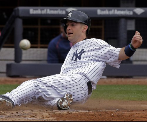 New York Yankees place Dustin Ackley on DL