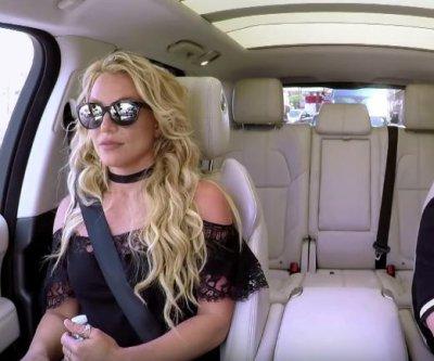Britney Spears, James Corden perform 'Toxic' in Carpool Karaoke teaser