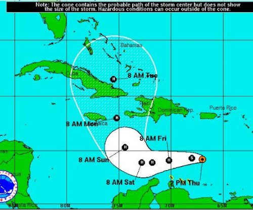 Matthew becomes hurricane, heads to Jamaica, Cuba, Bahamas