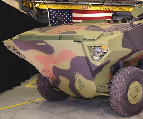 BAE rolls out first Amphibious Combat Vehicle 1.1 prototype