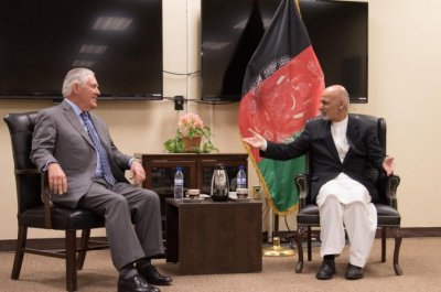 Rex Tillerson makes unannounced trip to Afghanistan