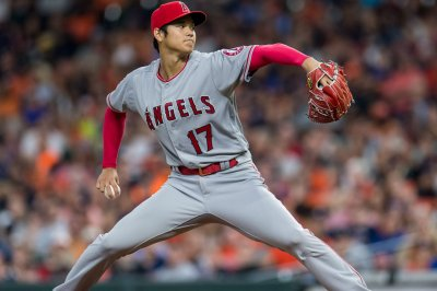 A's fans get last chance to see Angels' Ohtani