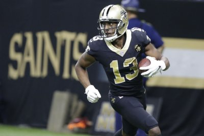 Saints' Michael Thomas fined $30,000 for cell phone celebration