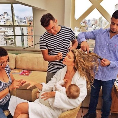 Gisele Bundchen shares breastfeeding photo, stirs controversy