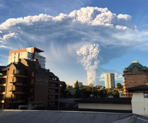 Volcano erupts in Chile for first time since 1961