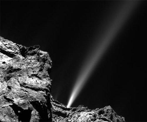 Rosetta comet produces 'firework' display as it nears the sun