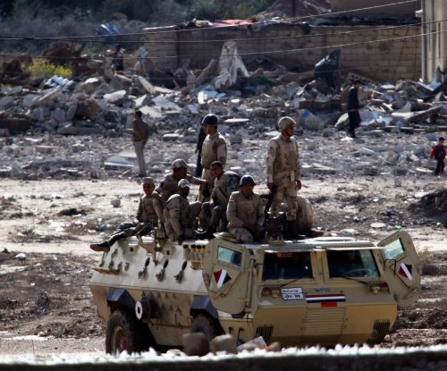 Egyptian security forces kill 55 militants during operation in Sinai Peninsula