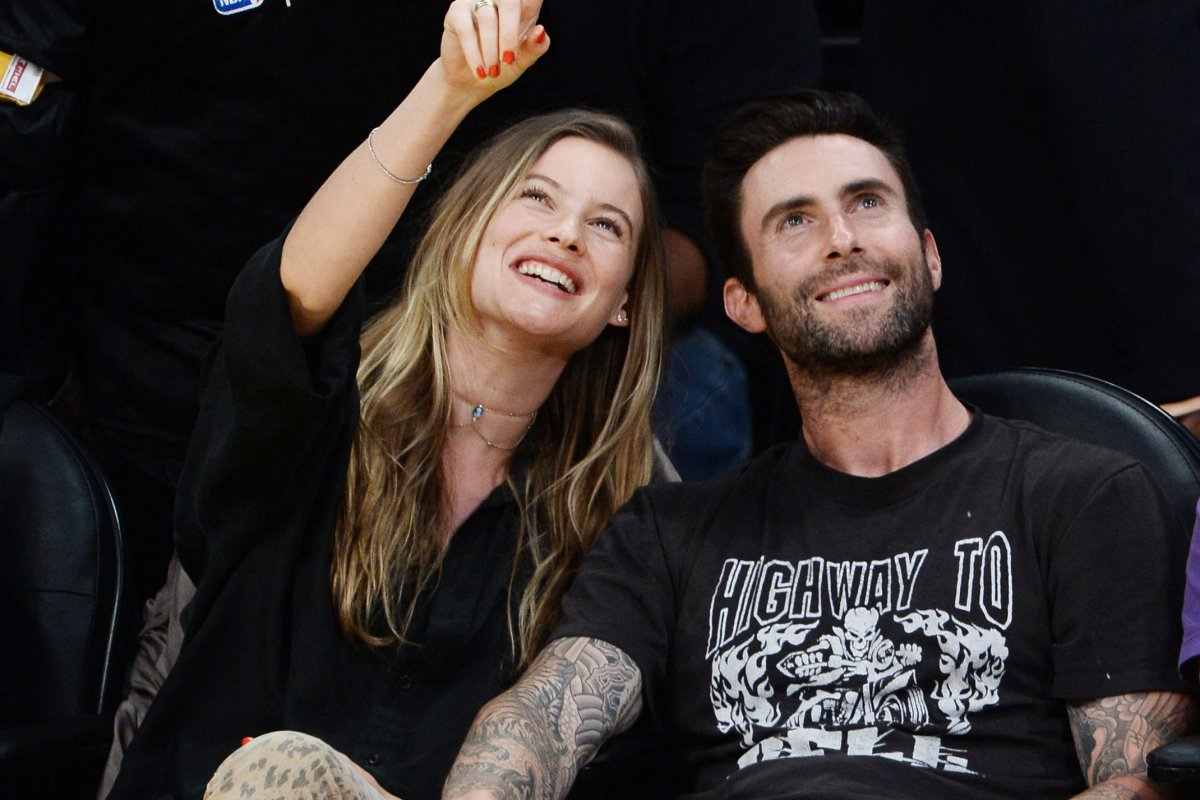 Behati prinsloo and adam levine welcome their first child a behati prinsloo and adam levine welcome their first child a daughter upi nvjuhfo Images
