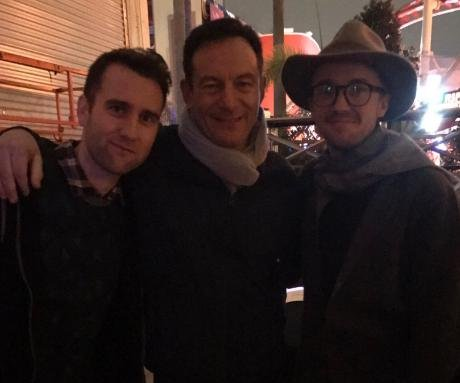 Jason Isaacs reunites with 'Harry Potter' co-stars at Universal Orlando