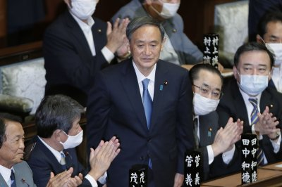 Suga elected prime minister of Japan, succeeds Shinzo Abe