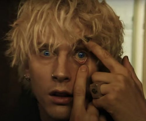 Machine Gun Kelly, Halsey face off in 'Forget Me Too' music video