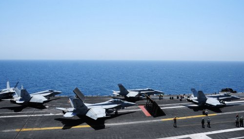 BREAKING: 2 Navy jets crash into the Pacific