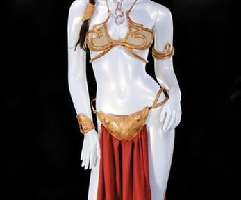 'Star Wars' slave Leia costume sells for $96,000