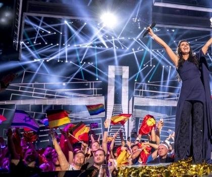 Ukraine celebrates Eurovision victory, Russia grouses