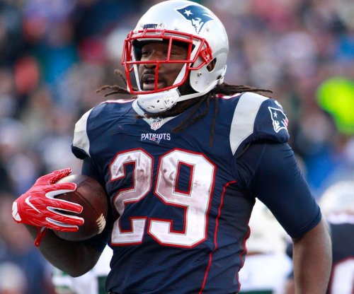 New England Patriots RB LeGarrette Blount sidelined by illness