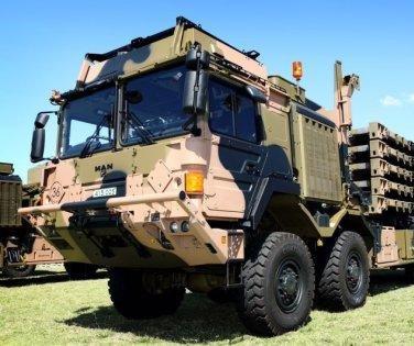 Australia receives new military trucks