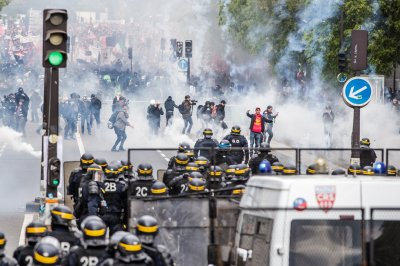Worldwide May Day demonstrations marred by violence, arrests