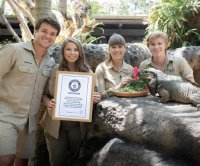 Rhinoceros iguana at Australia Zoo dubbed world's oldest at 40 years