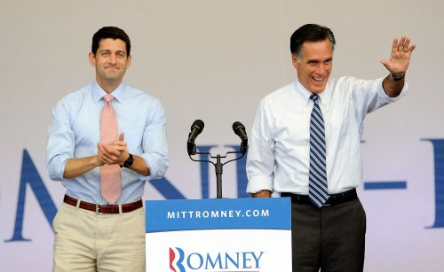 Romney schedule for Oct. 25