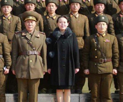 Kim Jong Un's sister makes rare public appearance