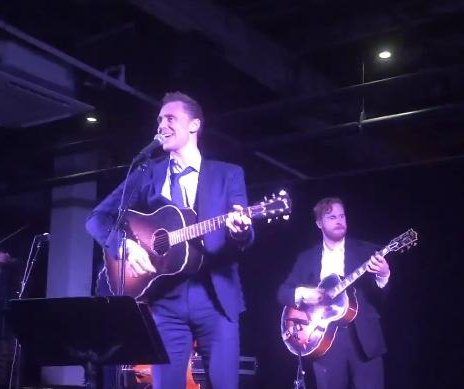 Watch Tom Hiddleston perform as Hank Williams