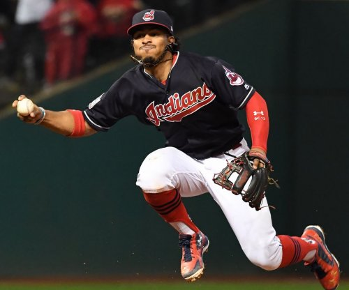 Francisco Lindor homers twice, powers Cleveland Indians past Texas Rangers