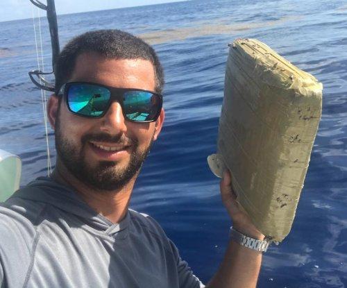 Florida fisherman reels in big package of marijuana