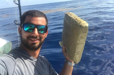 Florida fisherman reels in big package of marijuana