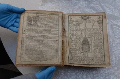 FBI returns 400-year-old Bible stolen from Carnegie Library