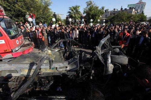 2 terrorists die in Gaza airstrike