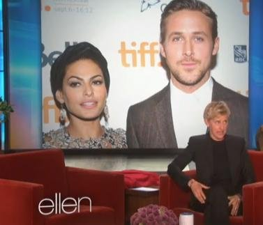 Ellen DeGeneres teases first photo of Eva Mendes and Ryan Gosling's baby