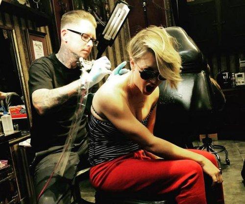 Kaley Cuoco covers wedding date tattoo following split from Ryan Sweeting