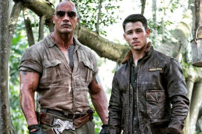 Dwayne Johnson shares first look at Nick Jonas' 'Jumanji' character on social media