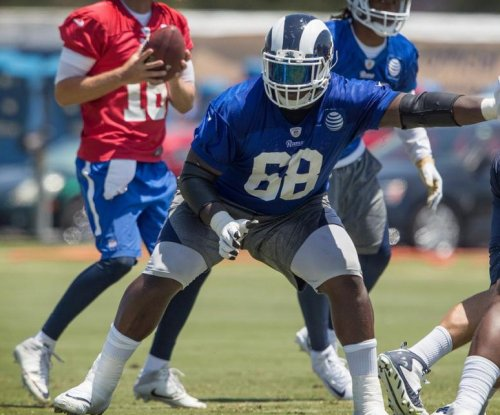 Los Angeles Rams OL Jamon Brown hit with two-game suspension