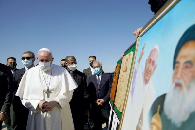 After Iraq trip, Pope Francis calls war and terrorism a 'mutating monster'
