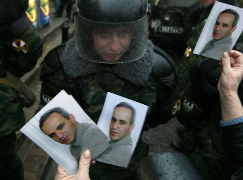 Kasparov arrested at Moscow rally
